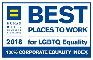 100% Rating On The Human Rights Campaign's (Hrc) Corporate Equality Index (Cei)
